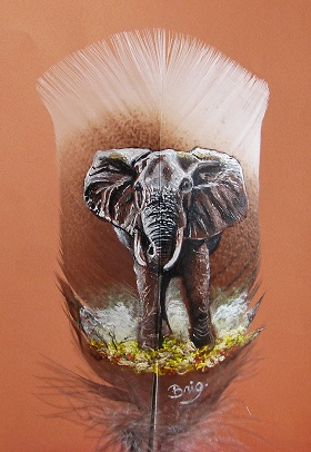 éléphant d`Afrique